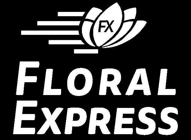 Floral Express logo black and white